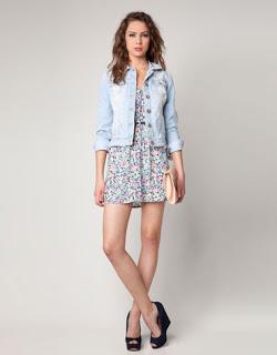 Lindos vestidos cortos floreados