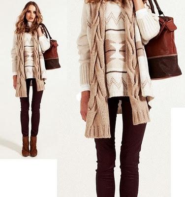 No todo es vestidos: Look invierno