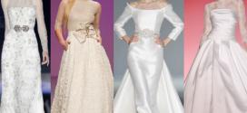 Vestido de invierno para bodas